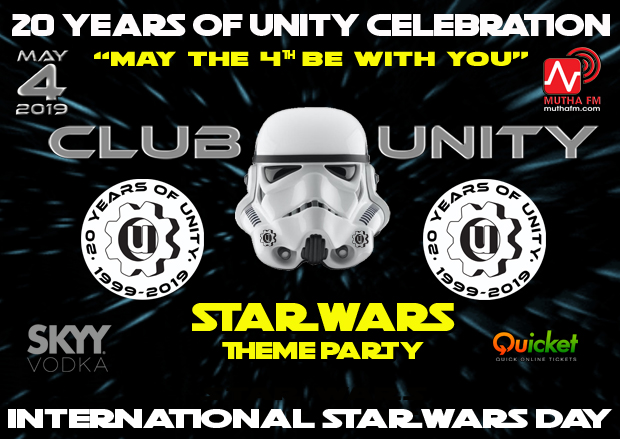 WIN DOUBLE TICKETS - 20 YEARS OF UNITY - Star Wars Theme